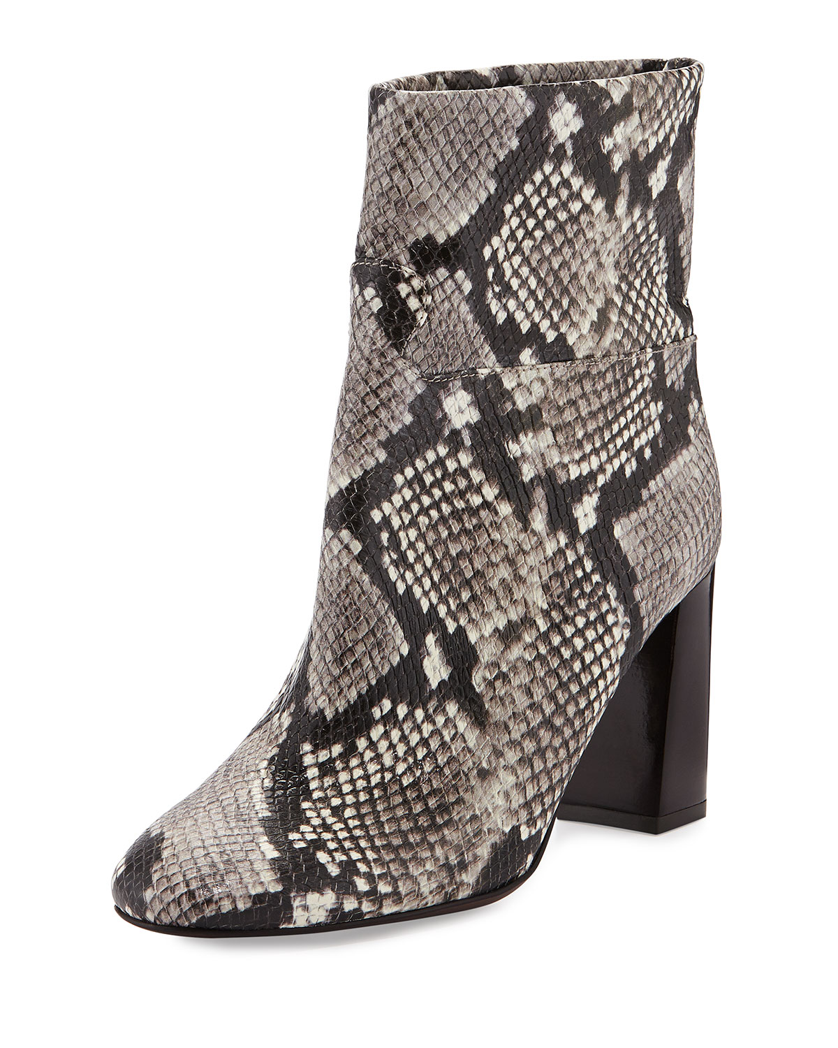 ea40d5d3c Tory Burch Devon Snake-Print Leather Boot