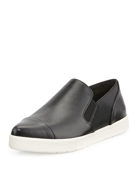 Vince Paeyer Pointy-Toe Sneaker, Black