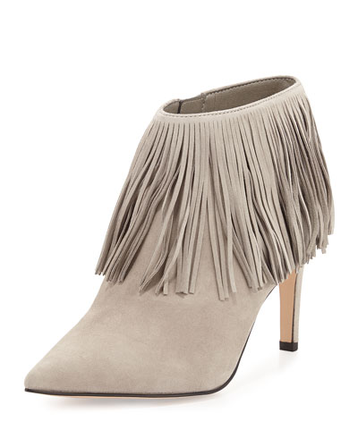 Kandice Fringe Ankle Boot, Winter Sky