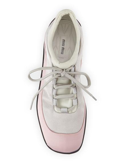 Colorblock Scuba Sneaker, Lily of the Valley (Mughetto)