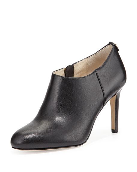 MICHAEL Michael Kors Sammy Napa Leather Ankle Boot,