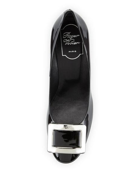 Belle de Nuit Patent Pump, Black