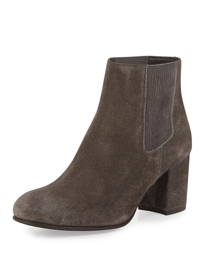 Xue Suede Ankle Bootie, Fox Velour