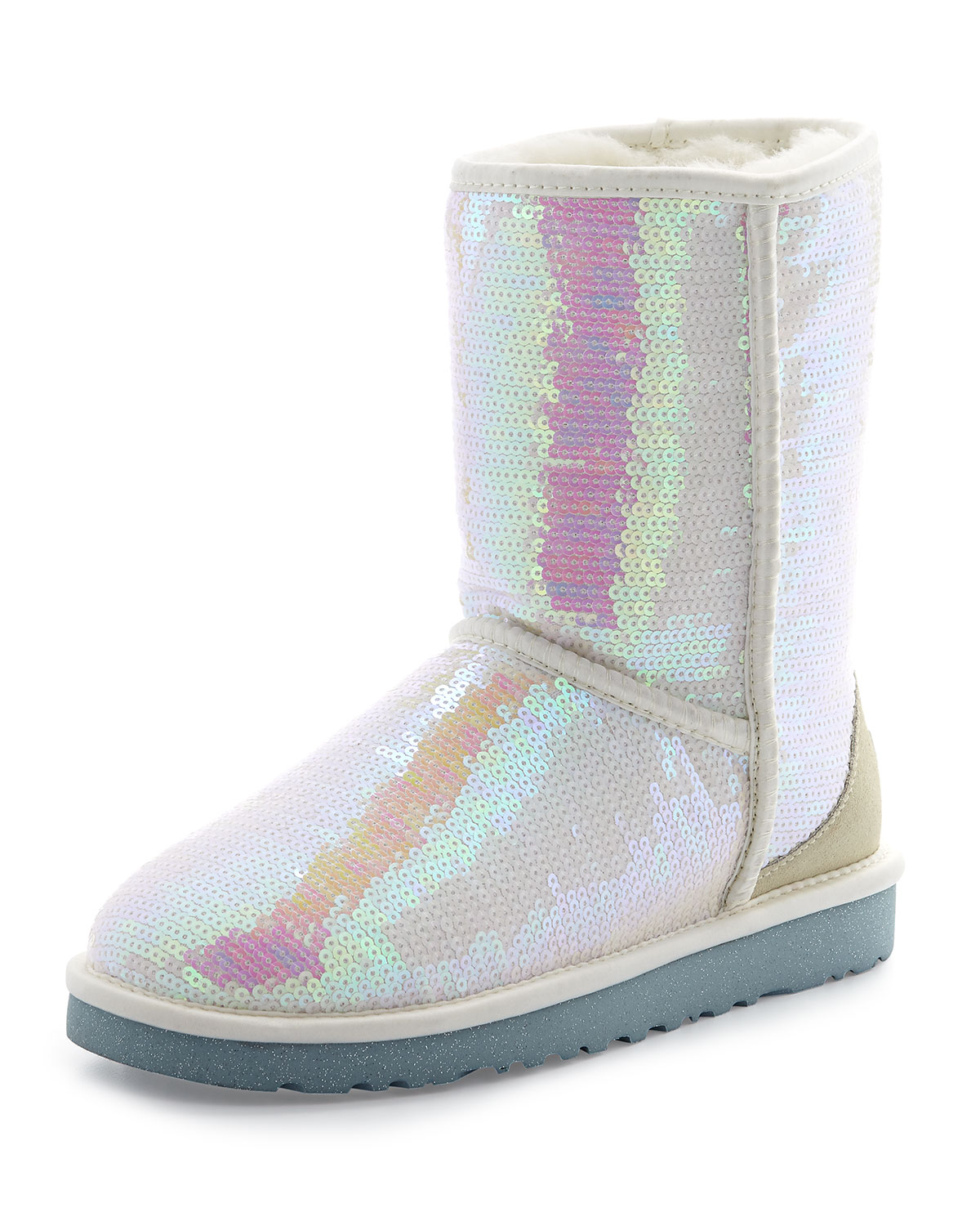 Sparkles Tall Boot, White