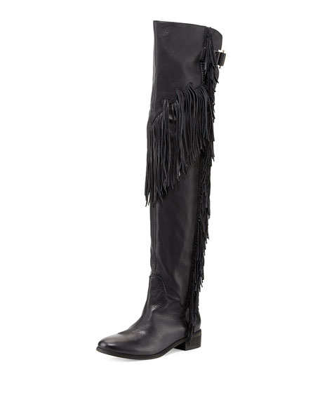 See by Chloé Leather Over-The-Knee Boots free shipping best best place shop for cheap online lJCp8