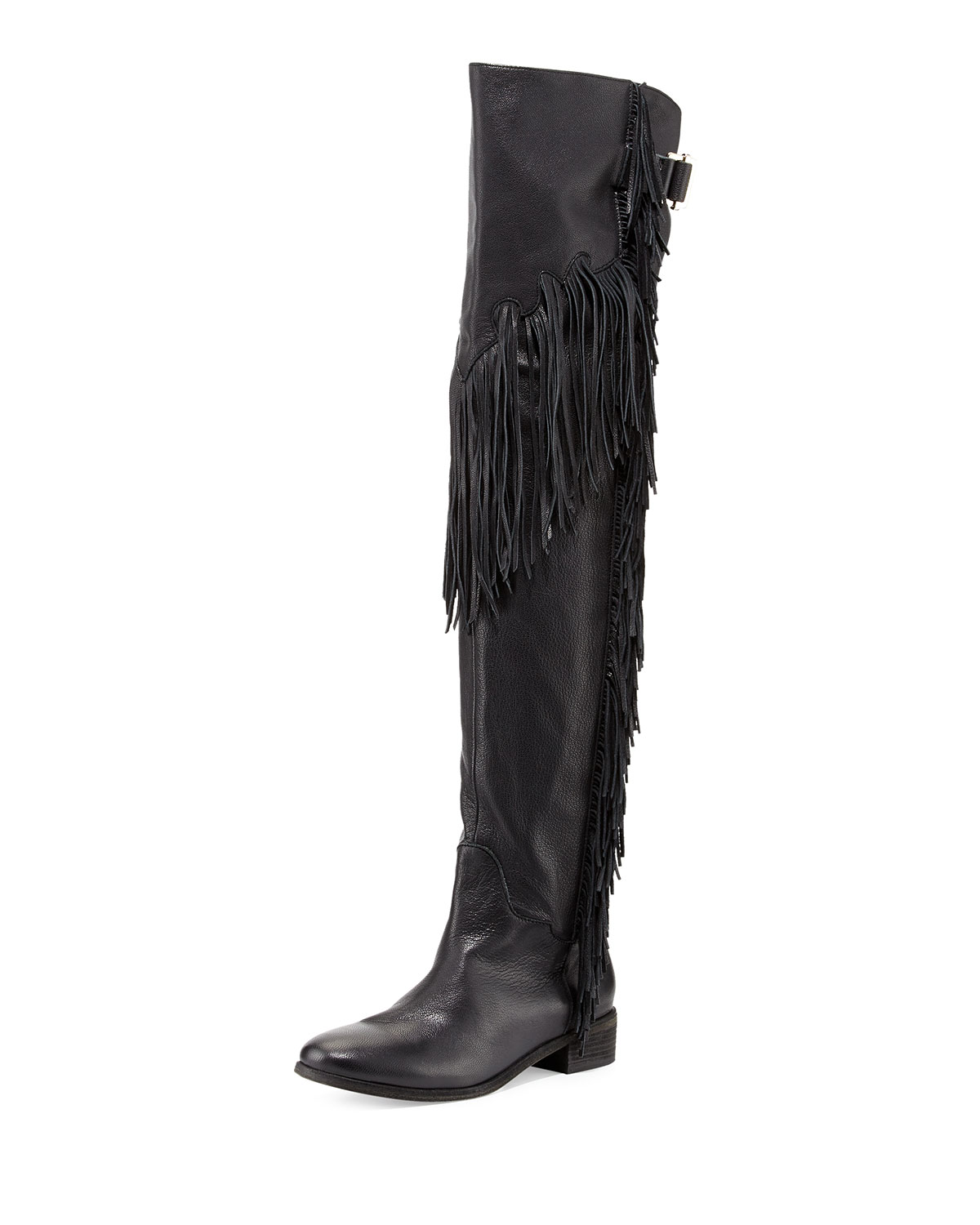 cda2c47a717 See by Chloe Epona Fringe Over-the-Knee Boot