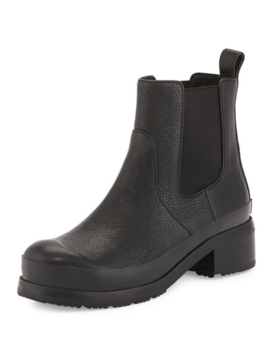 Original Leather Chelsea Boot, Black