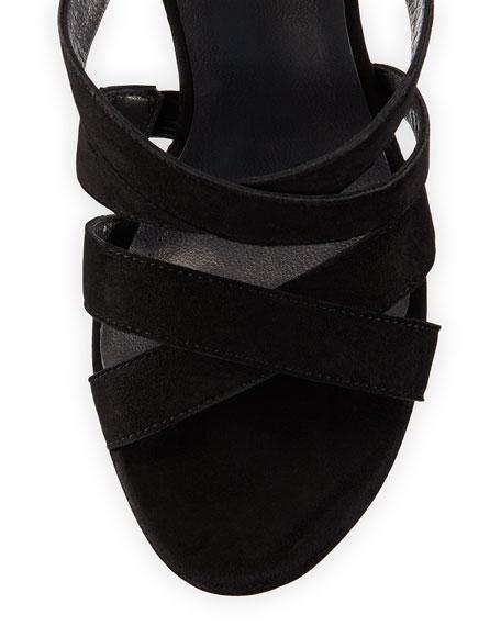 Soundtrack Strappy Platform Sandal, Black