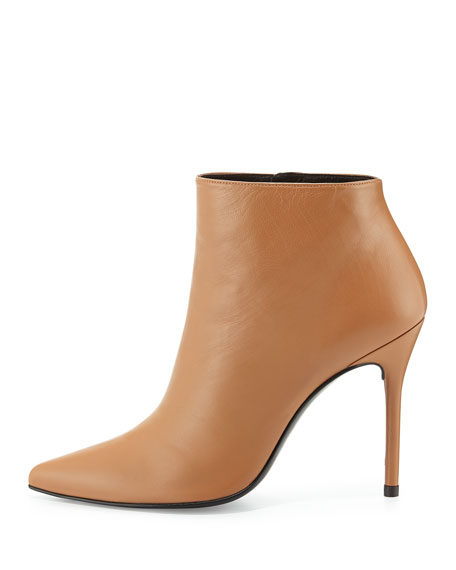 HiTimes Leather Ankle Boot, Camel