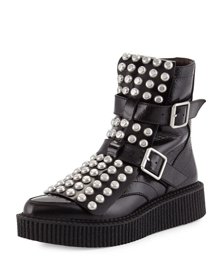 Marc by Marc Jacobs Bowery Studded Ankle Boots footlocker cheap price recommend online outlet many kinds of ebay cheap online R7CluaxpkB