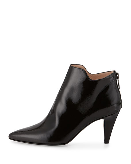 Sala Patent Ankle Bootie, Black