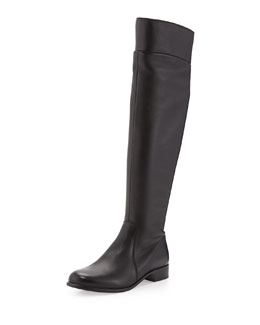 Soul Leather Over-the-Knee Boot, Black