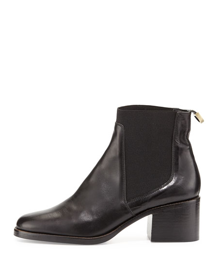 Corie Leather Chelsea Boot, Black