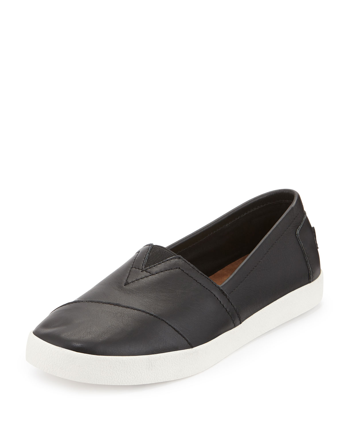 615951efee1b TOMS Avalon Leather Slip-On Sneaker