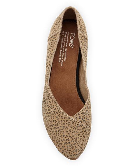 Jutti Cheetah-Print Ballerina Flat, Tan