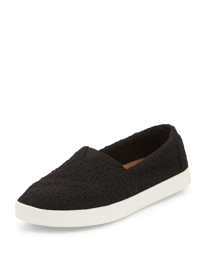 Avalon Boucle Slip-On, Black