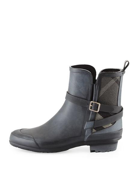 Riddlestone Check-Panel Rain Boot