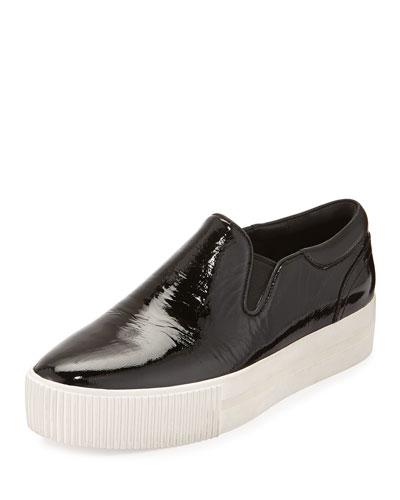 Karma Patent Skate Sneaker, Black