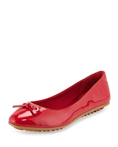 Juliet Escape Ballerina Flat, Tango Red