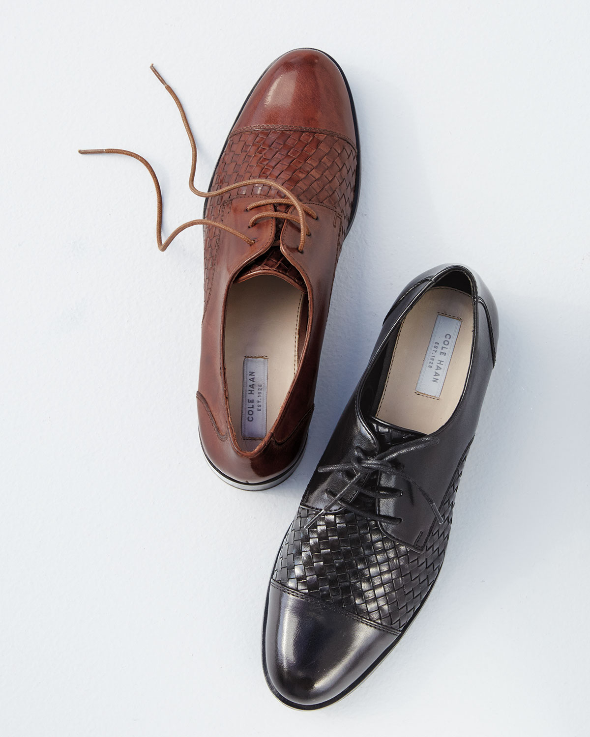 Cole Haan Jagger Weave Leather Oxford