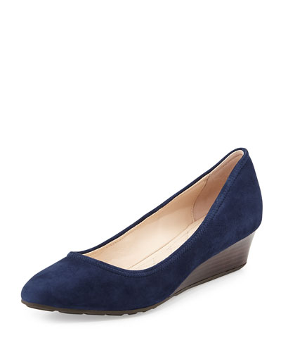 Tali Luxe Wedge Pump, Blazer Blue