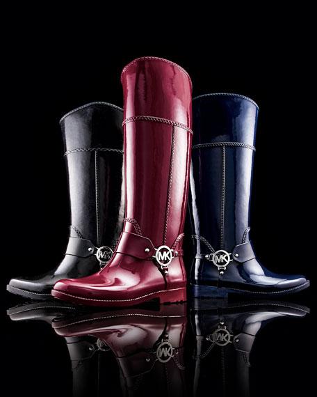 Fulton Harness Rain Boot, Navy