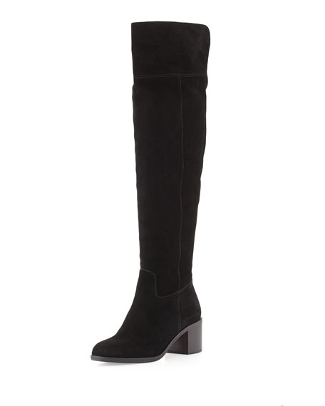 MICHAEL Michael Kors Paulette Sport Suede Over-the-Knee Boot,