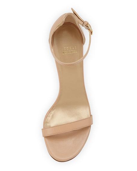 Nunaked Mid-Heel Sandal, Adobe