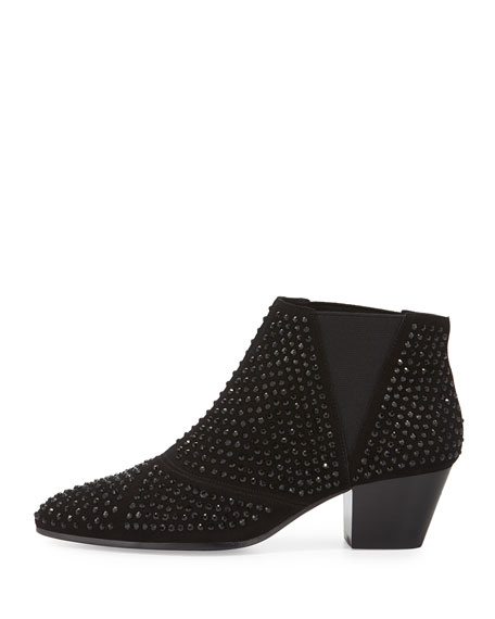 Image 2 of 3: Hypnotic Studded Ankle Boot, Black