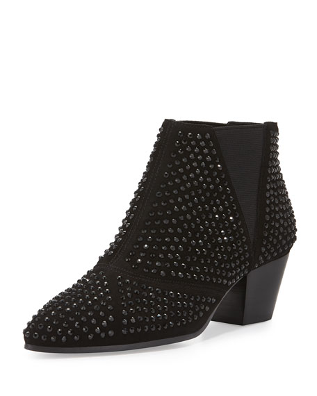 Image 1 of 3: Hypnotic Studded Ankle Boot, Black