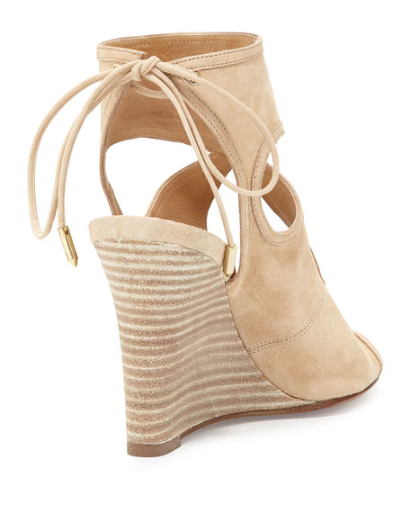 Sexy Thing Suede 85mm Wedge Sandals