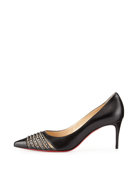 christian louboutin 70mm pumps