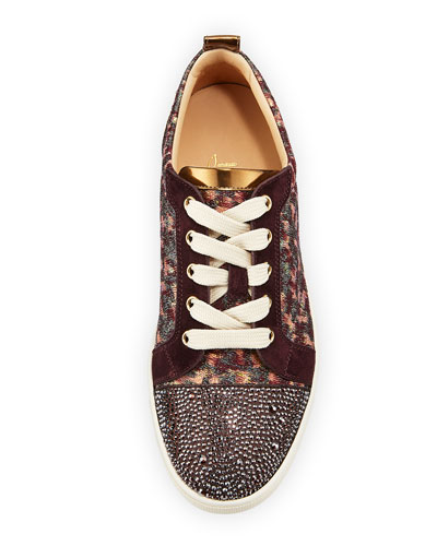 christian louboutin gondolastrass low-top sneakers