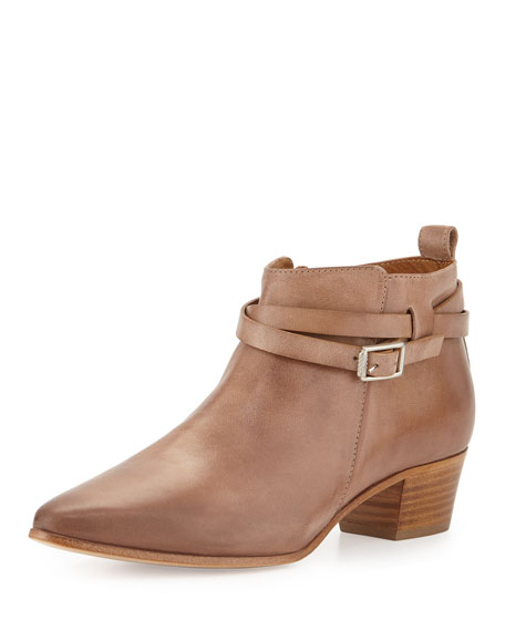 Alberto Fermani Vana Belted Ankle Bootie
