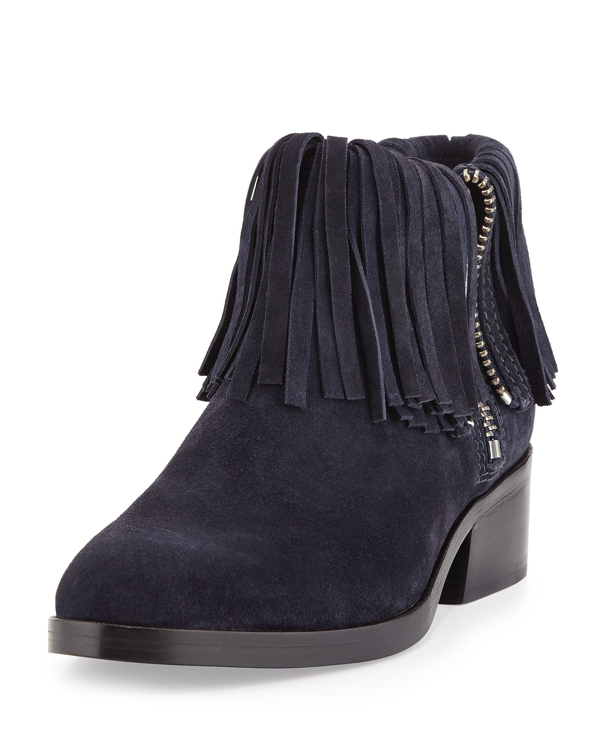 a9c20b774fcd2 3.1 Phillip Lim Alexa Fringed Suede Ankle Bootie