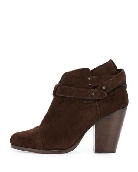 Harrow Suede Ankle Boot, Espresso