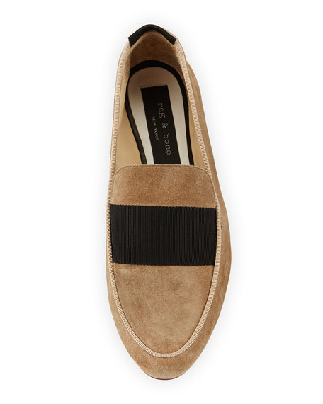 Sia Suede Loafer, Camel