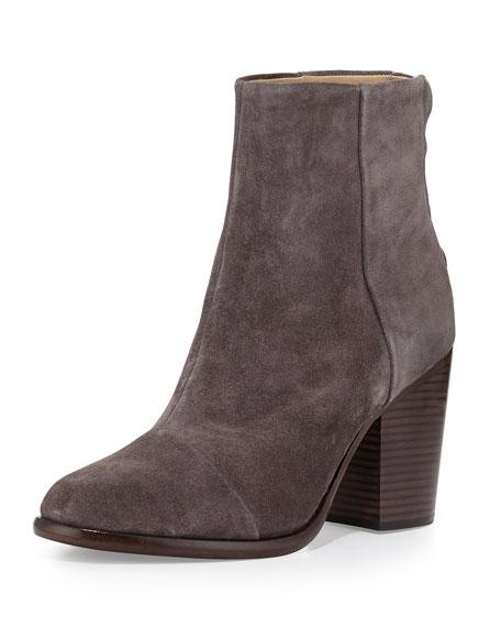 Rag & Bone Ashby Suede Ankle Boot, Granite