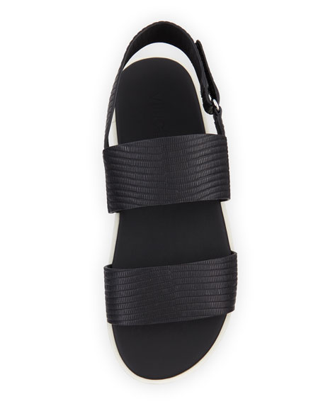 Brennen Leather Platform Sandal