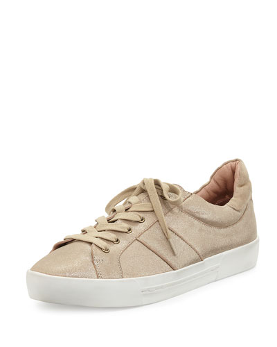 Dakota Leather Low-Top Sneaker, Saglia