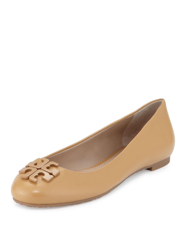 fcc0742f076c7c Tory Burch Lowell 2 Leather Ballet Flat