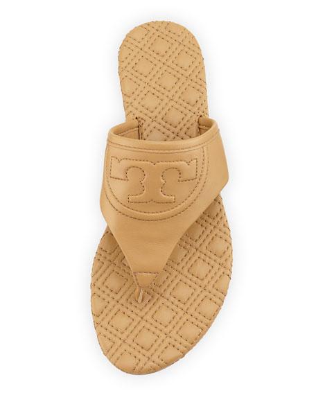 Fleming Flat Thong Sandal, Blond