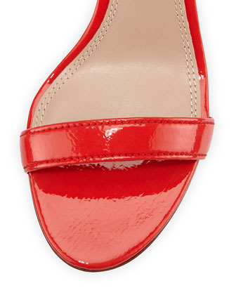 69df4ab9d5f Cecile Patent City Sandal, Pepper Red