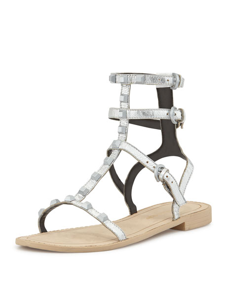 62a5f11d7d1 Rebecca Minkoff Georgina Studded Gladiator Sandal
