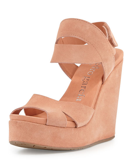 Teilor Suede Platform Sandal, Cameo