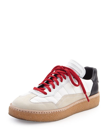 Alexander Wang Eden Colorblock Runway Low-Top Sneaker,