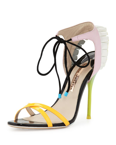 Maribel Fill 100mm Sandal, Multi
