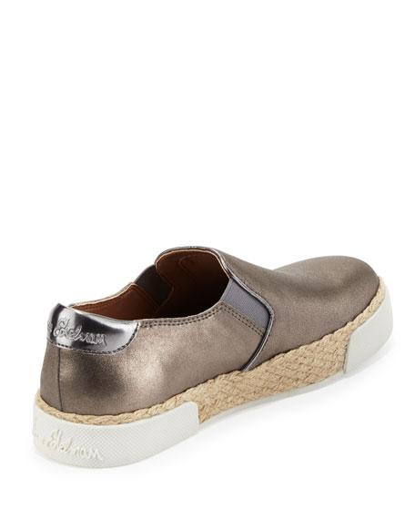 Banks Metallic Slip-On Sneaker, Pewter