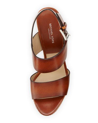 Michael Kors Laukku Rikki : Michael kors summer leather jute sandal luggage