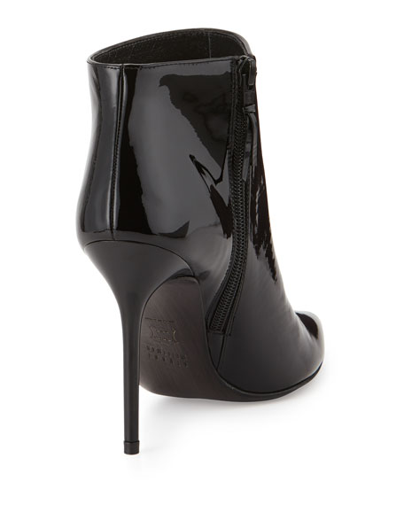 Stuart Weitzman Patent Leather Ankle Boots For Cheap Sale Online Free Shipping High Quality KTKDZuB